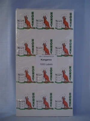 Kangaroo Labels pack of 1000