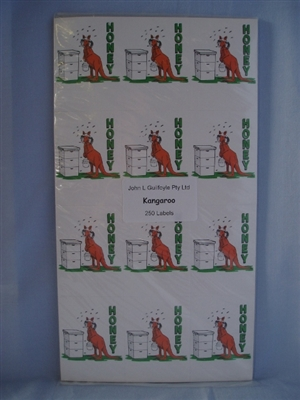 Kangaroo Labels pack of 250