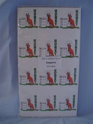 Kangaroo Labels pack of 500