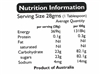 Nutrition Labels per sheet