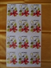 Sipping Bee Labels sheet of 12