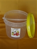 3kg Bucket with lid, handle and label pack of 50