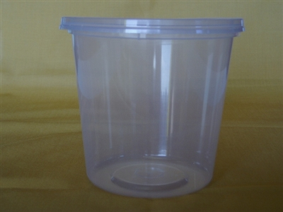 1kg Take Away Tubs with Lids pack of 50