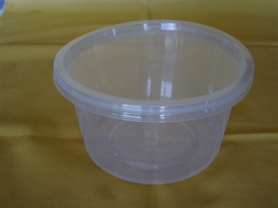 500 gm Take Away Tubs with Lids each