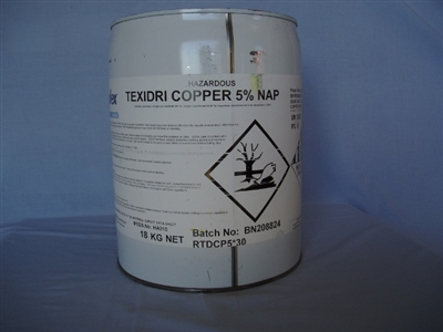 Copper Naphthanate 5% solution 18 litre