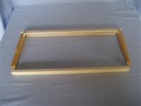 "Wooden Frames WSP 3/8"" bottom bar 1-99"