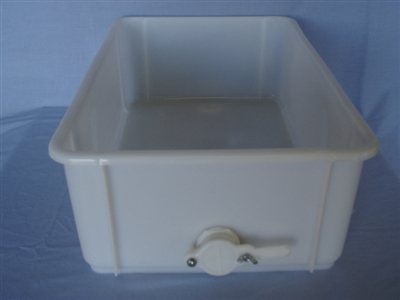 Bottom Tank with Gate for Rectangular Uncapping Unit