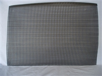 Black straining mesh for a Rectangular Uncapping Unit