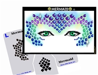 Mermaid Stencil Eyes