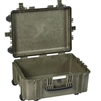 EXPLORER TRANSIT CASE GREEN EMPTY WITH WHEELS
