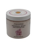 KBJP-454 All natural, unrefined, and alkalizing, mineral-rich Andes Pink  bath powder Salt