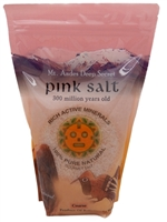 KFPC-1K Kari Andes Pink Salt-Coarse 2.2 lbs_All natural, unrefined, and alkalizing, mineral-rich tasty Pink Salt