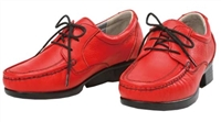 KJShin female red dress shoes
