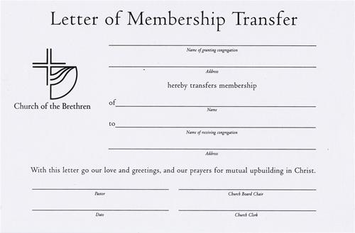 Sample Transfer Vehicle Ca Letter