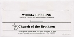 Church of the Brethren Boxed Offering Envelope Sets