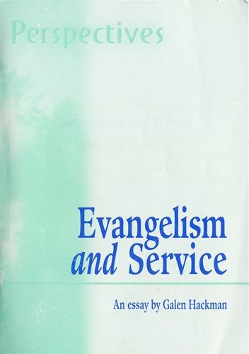 Free essay on evangalism