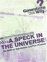 Speck in the Universe: the Bible on Self-Esteem and Peer Pressure - pdf