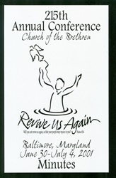 2001 Annual Conference Minutes: Revive Us Again