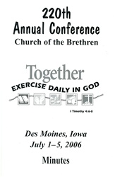 2006 Annual Conference Minutes: Together