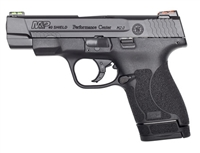 "Smith & Wesson M&P 40 Shield M2.0 Performance Center 40 S&W 4"" 6+1 & 7+1 Black"