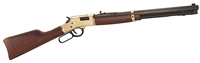 "Henry H006 Big Boy Classic Big Boy Rifles Lever 44 Remington Magnum 20"" 10 American Walnut Stk Brass Receiver/Blued Barrel"
