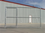6' x 11' Dog Kennel Gate Panel