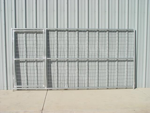 X Dog Kennel Panel