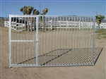 6'x10' European Style Dog Kennel Gate Panel