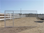 6'x12' European Style Dog Kennel Gate Panel
