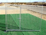 6'x8' European Style Dog Kennel Gate Panel