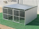 2 Run 5' x 10' Shed Row Dog Kennels  ~ Order Online Today! ~ Free Shipping! *