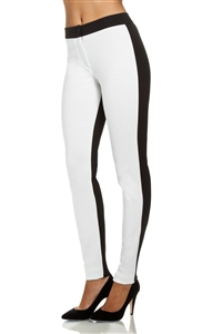 two tone PANEL LEGGINGS