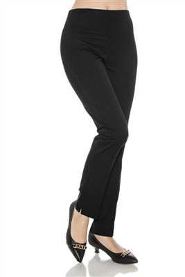 Crepe Bella high rise straight leg pant 1036