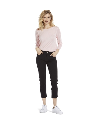 'Cynthia' Slim-Fit Cropped Jeans
