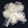 Aurelia Ribbon Flower with Swarovski Crystal
