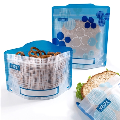 Blueberry Linen Russbe Sandwich and Snack Bags