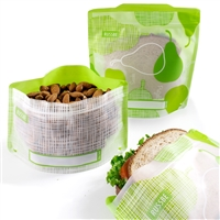 Pear Linen Russbe Sandwich and Snack Bags