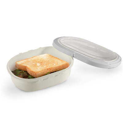 Perfect Seal Bento Box - Bone White