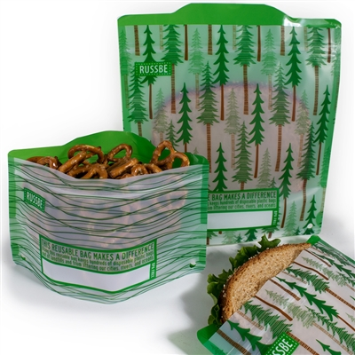 Forest Russbe Sandwich and Snack Bags
