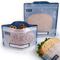 Hexagrid Russbe Sandwich and Snack Bags