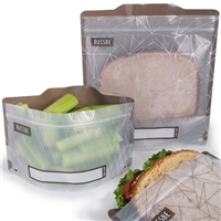 Rhombus Russbe Sandwich and Snack Bags