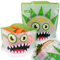 Green Monster Russbe Sandwich and Snack Bags