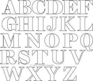 Alphabet Block Letters | Crystal Smythe | Digitized Quilting Designs