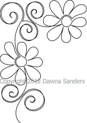 Gerber Daisy Block - Digital | Flower, Patterns and Embroidery