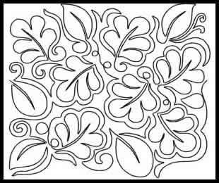 Luscious Leaves Joann Hoffman Digitized Quilting Designs