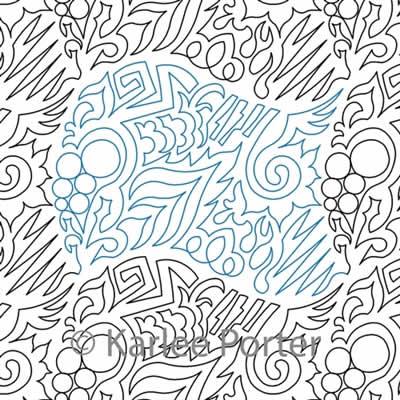 EZ Doodle 3 Karlee Porter Digitized Quilting Designs