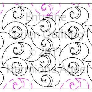 Entwine Lorien Quilting Digitized Quilting Designs