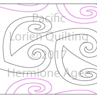 Digital Quilting Design Pacific by Lorien Quilting.