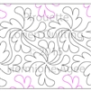 Digital Quilting Design Pirouette by Lorien Quilting.