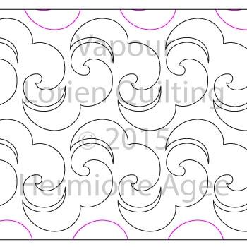 Vapour Lorien Quilting Digitized Quilting Designs